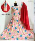 Gamis Syari Zaina B037 Crepe