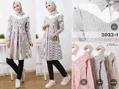 b045 baju remaja midi dress