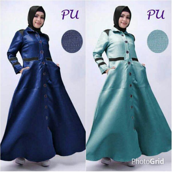 Gamis Remaja Modis B053 Balotelli Baju Muslim Modern Murah