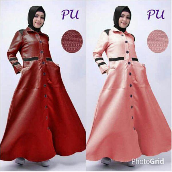 Gamis Remaja Modis B053 Balotelli Baju Muslim Modern Murah Butik