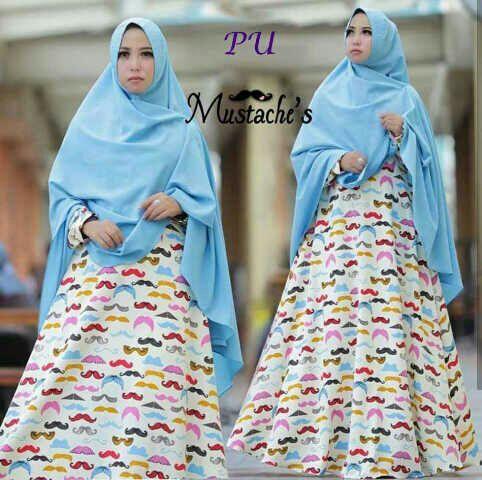 Gamis Modern Kumis Syar 39 I B055 Baju Muslim Terbaru Trend
