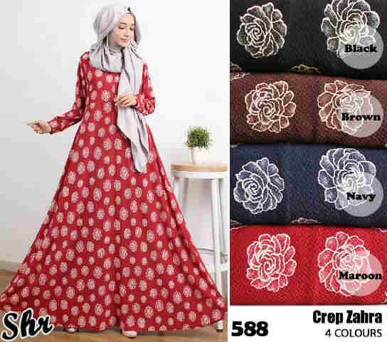 Maxi Dress Crep Zahra