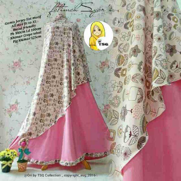 Gamis Modern Fatimah Syar 39 I B061 Model Baju Muslim Baru