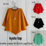 baju atasan kyoto blouse