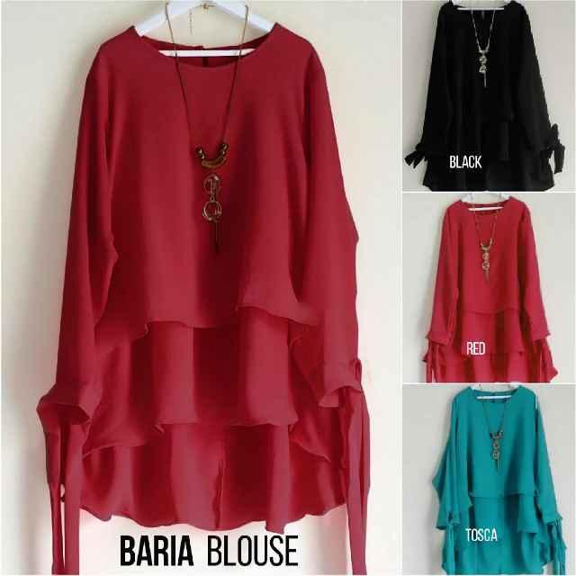 Model Baju Bahan Sifon Muslim Grosir Baju Surabaya