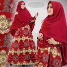 Gamis Satin Premium B089 Hanna Syar'i