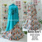 Gamis Cantik Rania Crepe B019