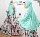 Gamis Cantik Murah B121 Lorena Syar'i