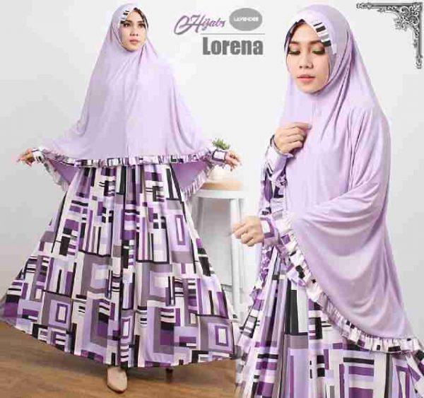 Gamis Cantik Murah B121 Lorena Syar'i Online