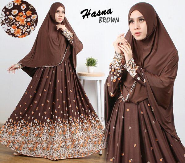 Gamis Cantik Murah B106 Hasna Syar 39 I Baju Muslim Online