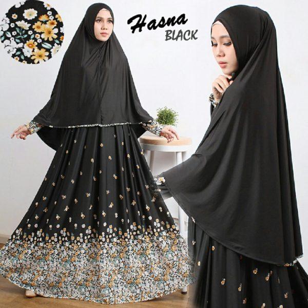 Model Gamis Cantik Murah B106 Hasna Syari