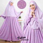 b107 gamis jumbo murah delisha ungu muda