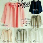 baju atasan wanita rose