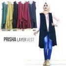 Busana Wanita Prisha Layer Vest