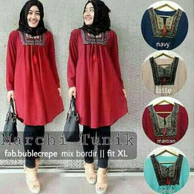 Baju Muslim Tunik