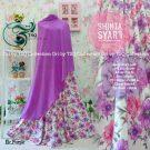 Gamis Cantik Shinta Syar'i Motif Bunga