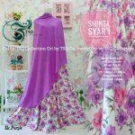 gamis-cantik-shinta-syari-ungu-motif-bunga