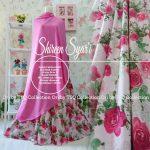 gamis-cantik-shireen-syari-carzia-white-pink