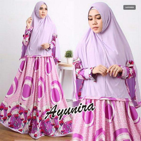 Gamis Modern Terbaru Ayunira Syar 39 I Baju Muslim Cantik