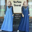 Busana Remaja Brenda Overall Jeans Washed