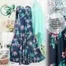 Gamis Bunga Cantik Silvia Syar'i
