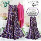 Gamis Syar'i Motif Terbaru Chanel