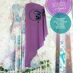 gamis syari windy wolfis purple