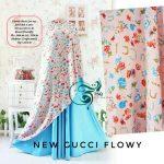 baju-gamis-cantik-gucci-flowy-blue-pink