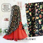 baju-gamis-cantik-gucci-flowy-red-black