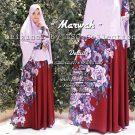 Baju Muslim Cantik Marwah Syar'i