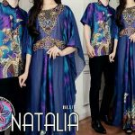 batik couple natalie biru
