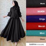 gamis terbaru sabrina hijab