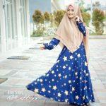 gamis-cantik-blue-star-syari-2
