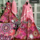Gamis Motif Sofie Syar'i Pink