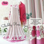 gamis jersey shaby rose pink