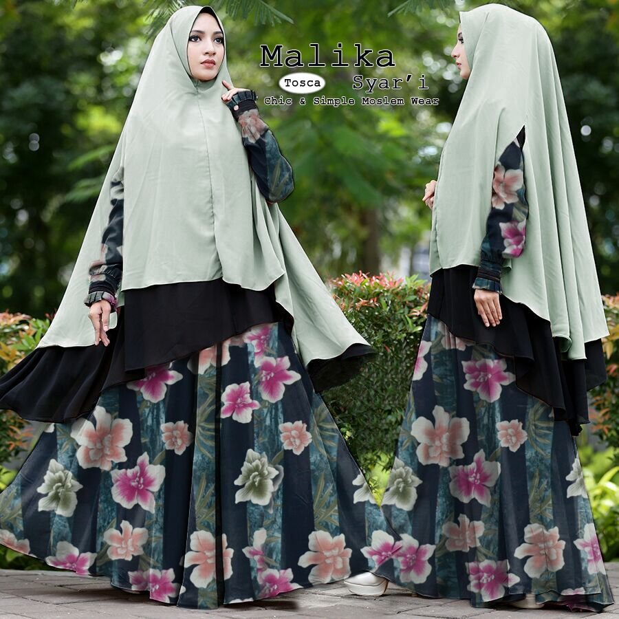 Baju Gamis Syari Polos Terbaru Supplier Baju Muslim Terbaru