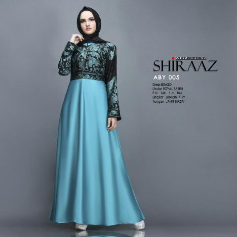 baju pesta satin royal brasso tosca