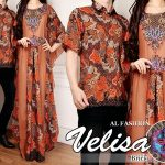 batik couple velisa bata