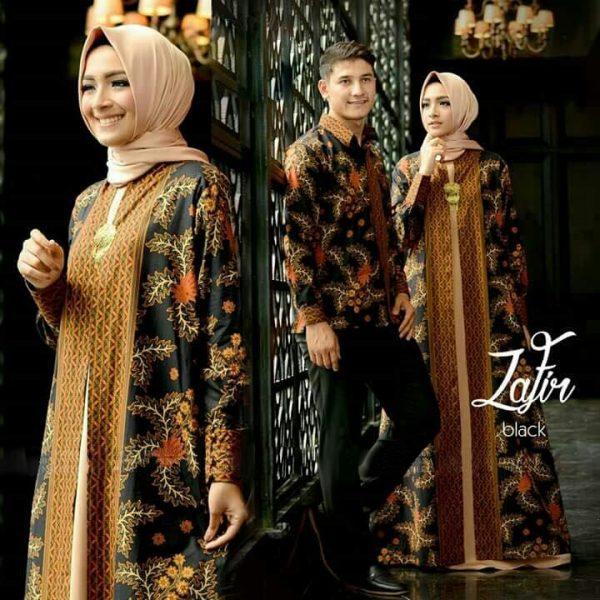 batik couple zafir hitam