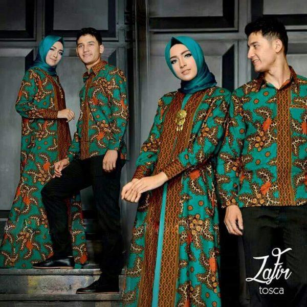 batik couple zafir toska