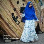 gamis syar'i butterfly premium crepe