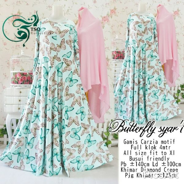 gamis butterfly