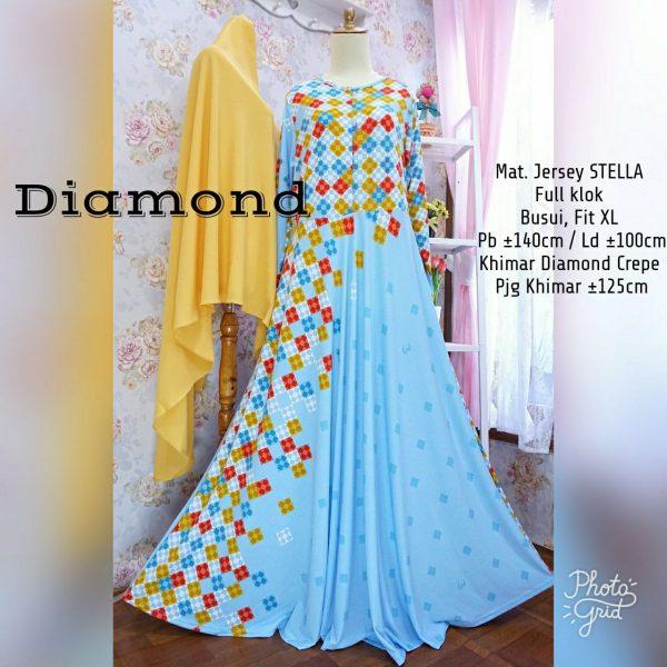 Gamis Diamond Syar'i