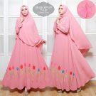 Syar'i Bubblepop Tulip Pink