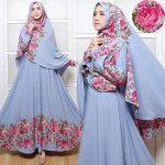 Gamis Syar'i Cantik C014 Blue