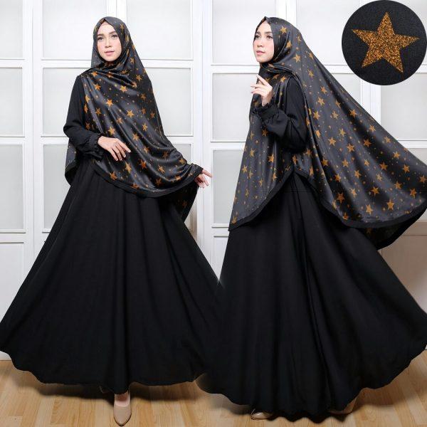 Syar'i C018 khimar maxmara black