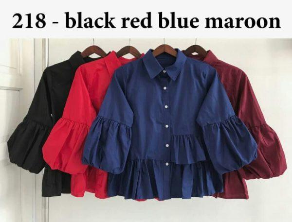 Baju Atasan Wanita Polos 218