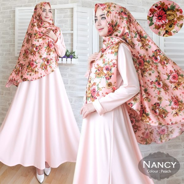 Gamis-Cantik-Nancy-Misbee-Peach