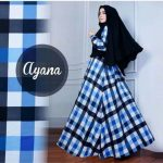 Gamis Syar'i Ayana Monalisa Blue
