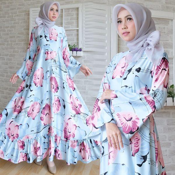 Baju Maxi Maxmara Lux Terbaru Gamis Remaja Cantik Butik Jingga